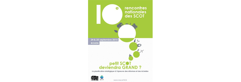 Rencontres nationales des scot